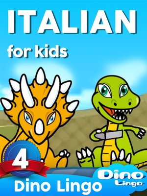 cover image of Italian for Kids, Lesson 4